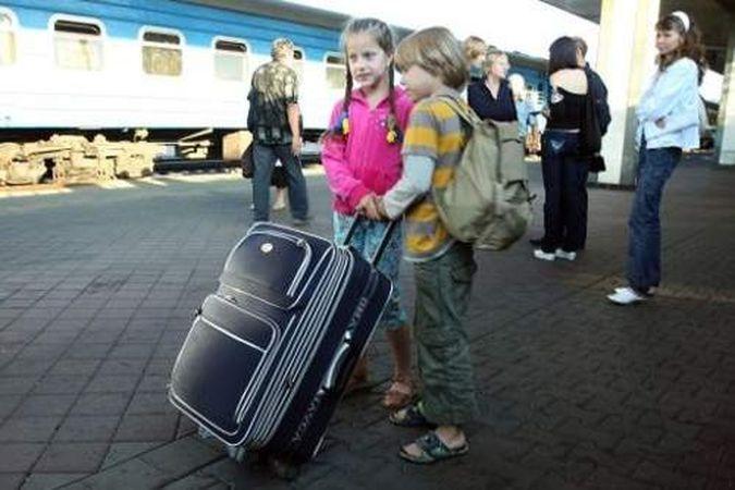 На море поездом из москвы за границу