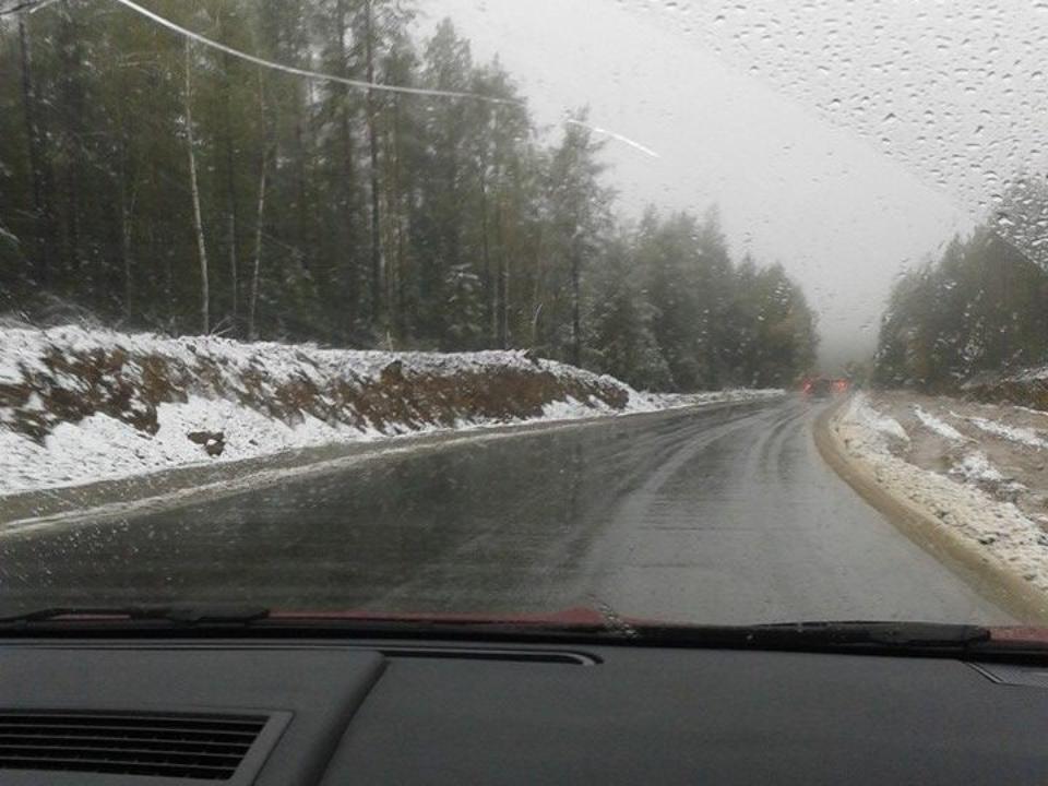снег уже:
