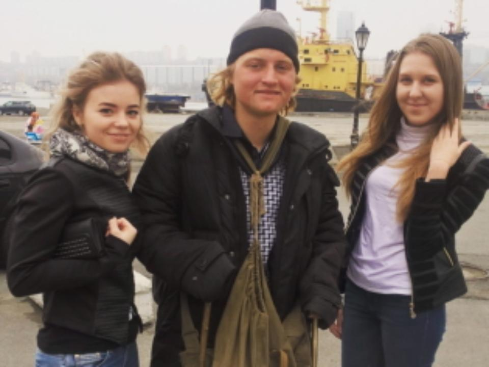 Серега Питерский всё-таки дошёл доВладивостока