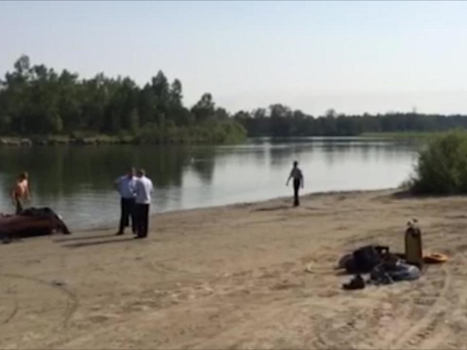 Отыскали тело погибшего полицейского, который пытался спасти нетрезвого водителя