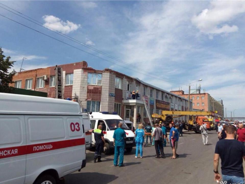 Дело возбудили пофакту обрушения здания вКемерово