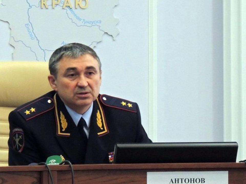 Главный полицейский Красноярского края Вадим Антонов оставляет собственный пост?