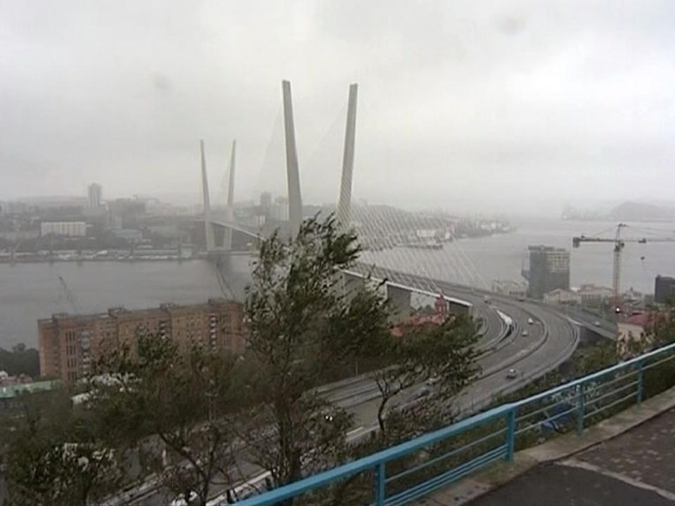 Штормовое предупреждение объявлено воВладивостоке
