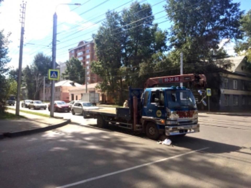 ВБратске шофёр сбил насмерть пешехода и исчез