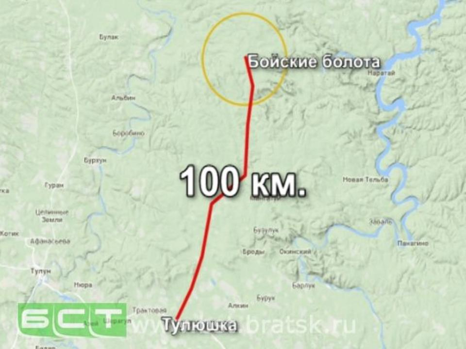 Заблудившийся 77-летний грибник изБратска прошёл неменее 100 километров полесу