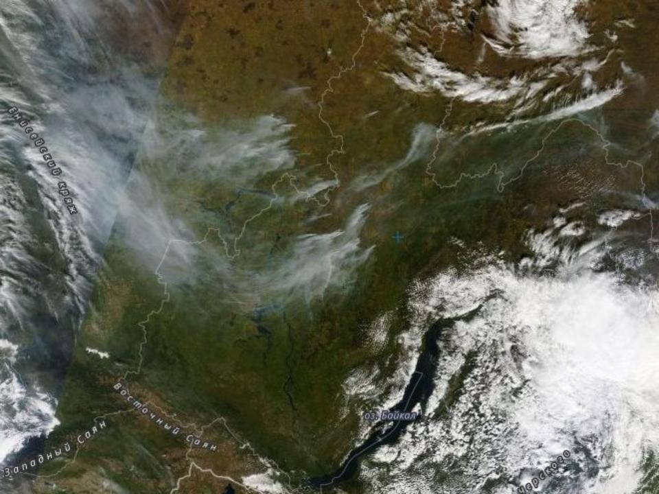 Десять лесных пожаров потушили вПриангарье