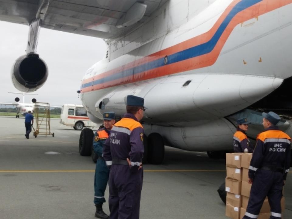 Новосибирские cотрудники экстренных служб направились вподтопленный Приморский край