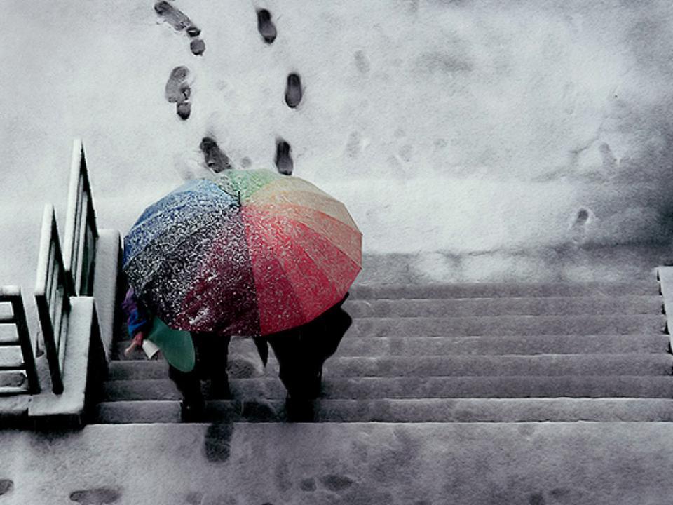 Статус про зиму и снег и любовь