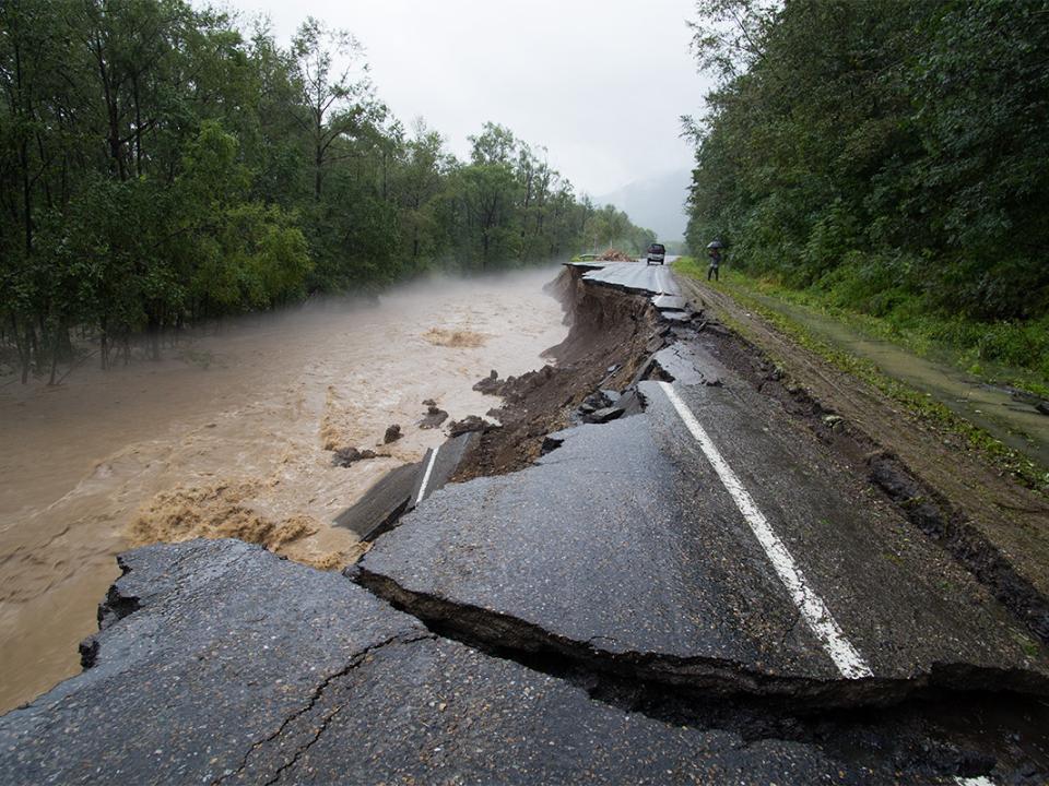 Введенный из-за наводнения режимЧС отменен в12 муниципалитетах Приморья