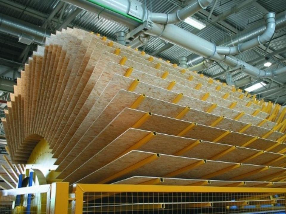1ноября 2016 вТомске открылся новый завод древесно-стружечных плит