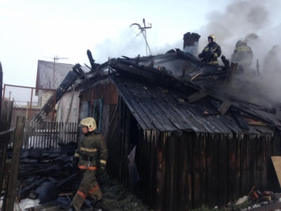 Три человека погибли впожаре в личном доме под Новосибирском