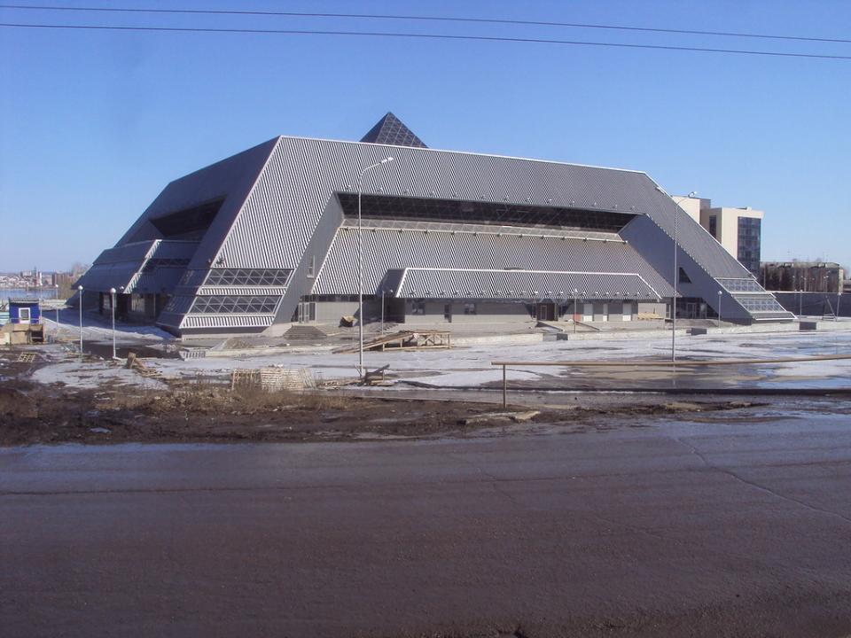Ледовый дворец передали всобственность Иркутской области