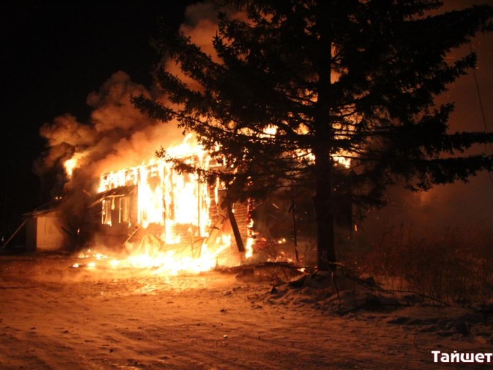 Магазин «Светофор» и строение котельной сгорели вТайшете