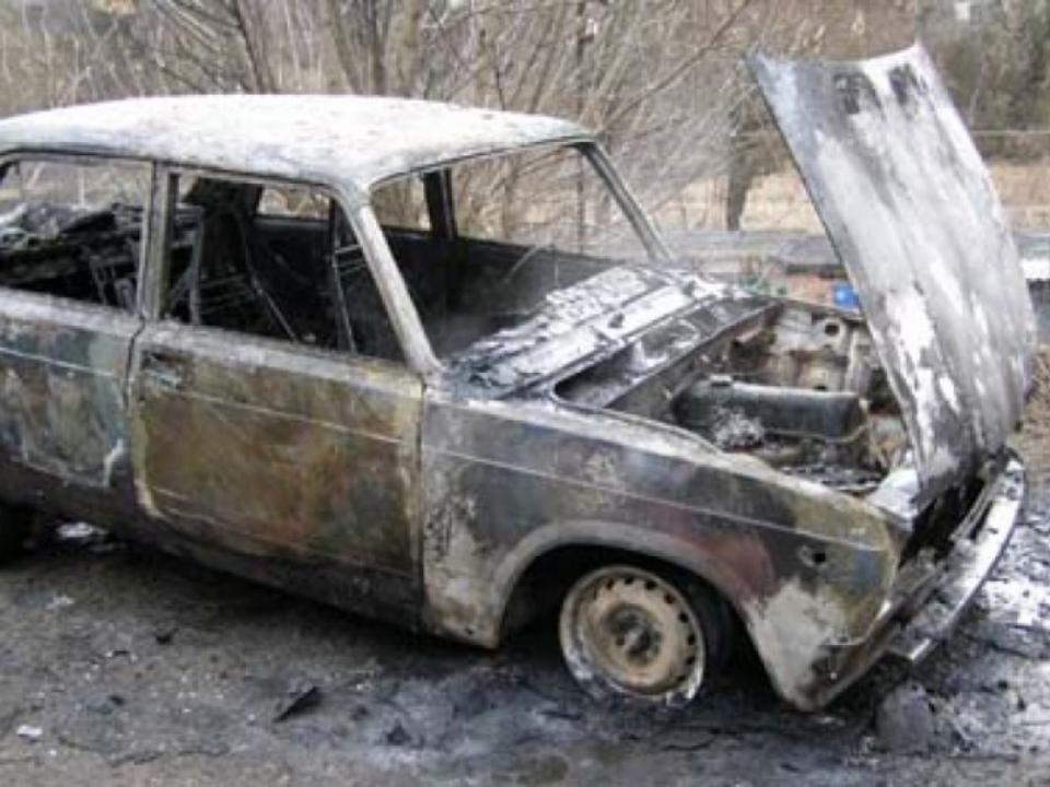 Гражданин Красноярска сжег угнанную машину изстраха быть пойманным