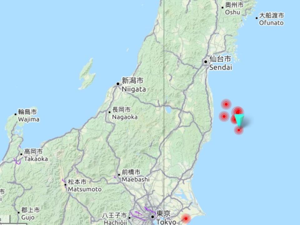 Уберегов Японии случилось очередное землетрясение, Фукусиму тоже «зацепило»