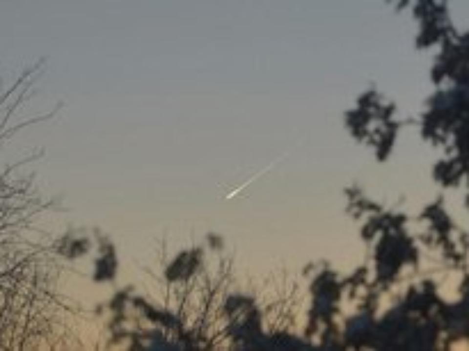 Внебе над Кемеровом запечатлели НЛО