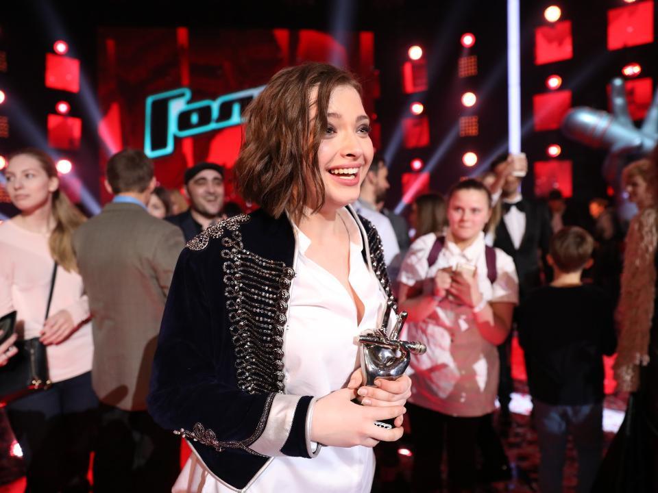 20-летняя Дарья Антанюк стала победителем 5-ого «Голоса»