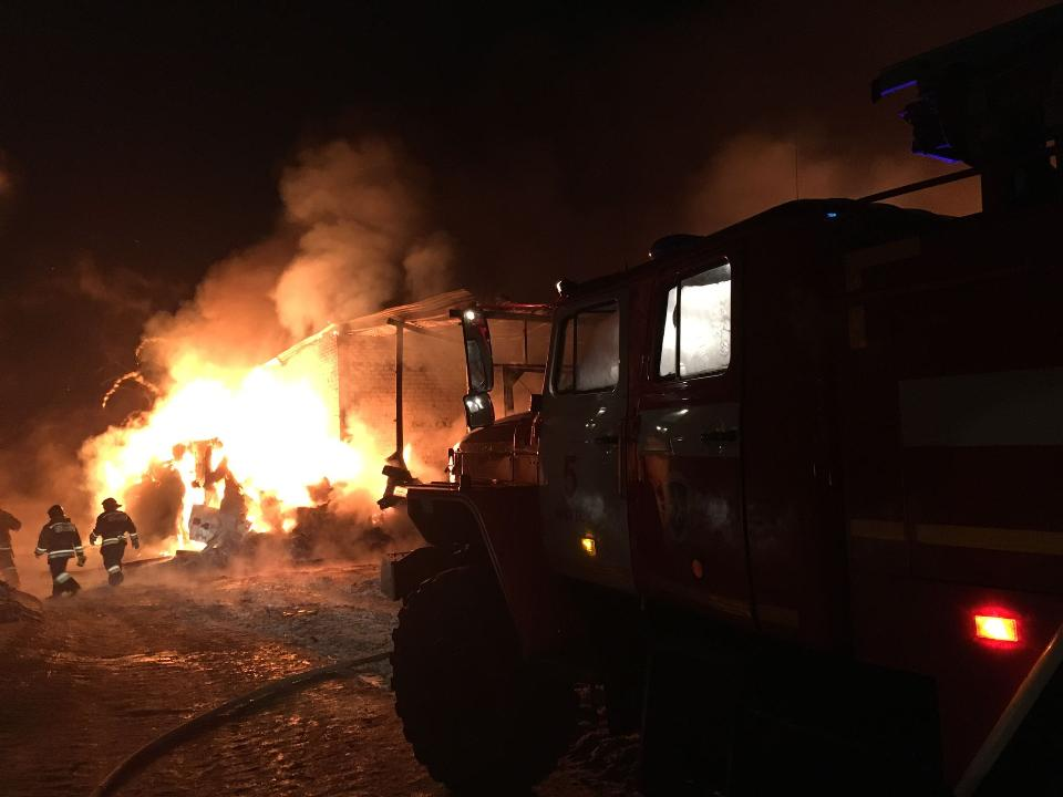 Пожар наполигоне твёрдых бытовых отходов удалось ликвидировать