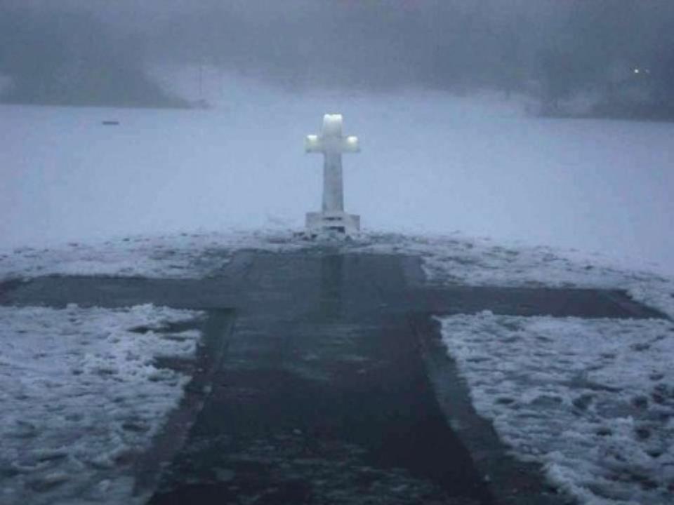 Расчлененный труп отыскали вкрещенской проруби вКрасноярском крае