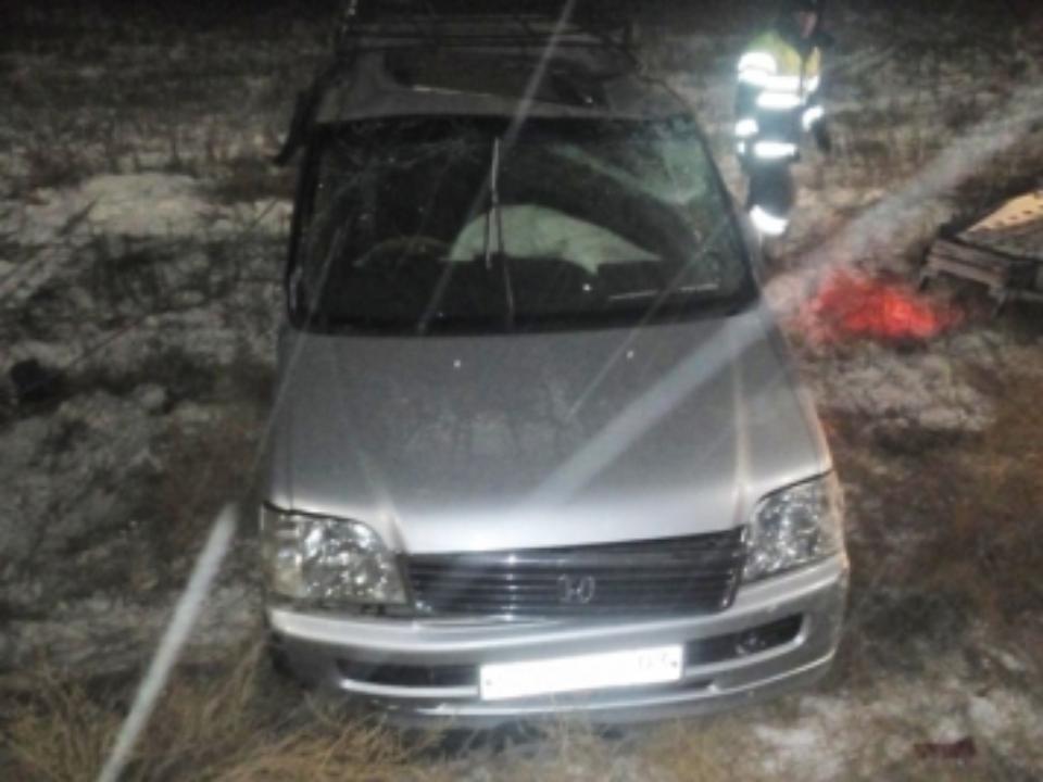 ВБурятии насмерть разбился шофёр минивэна