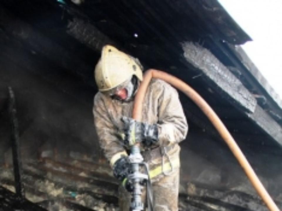 Ночью вОренбурге ликвидирован пожар наулице Конституции