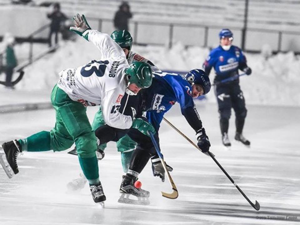 Вматче «Водник»— «Байкал-Энергия» игроки забили 20 мячей всвои ворота