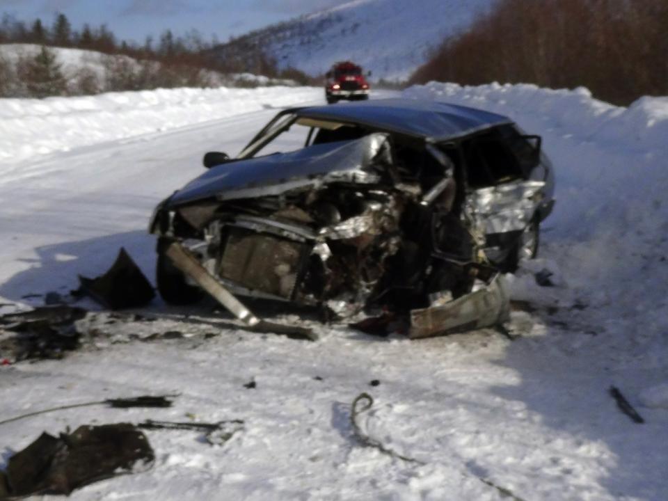 Молодой шофёр умер вДТП с грузовым автомобилем вИркутске