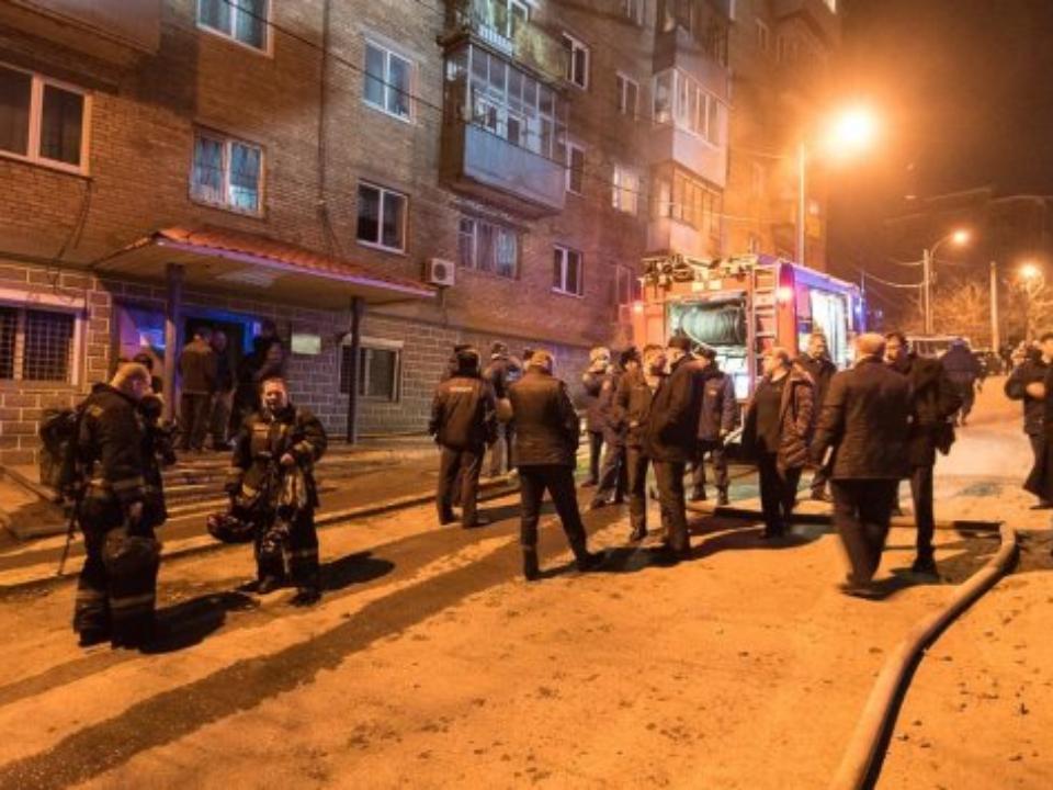 ВоВладивостоке полыхает сооружение милиции наМахалина