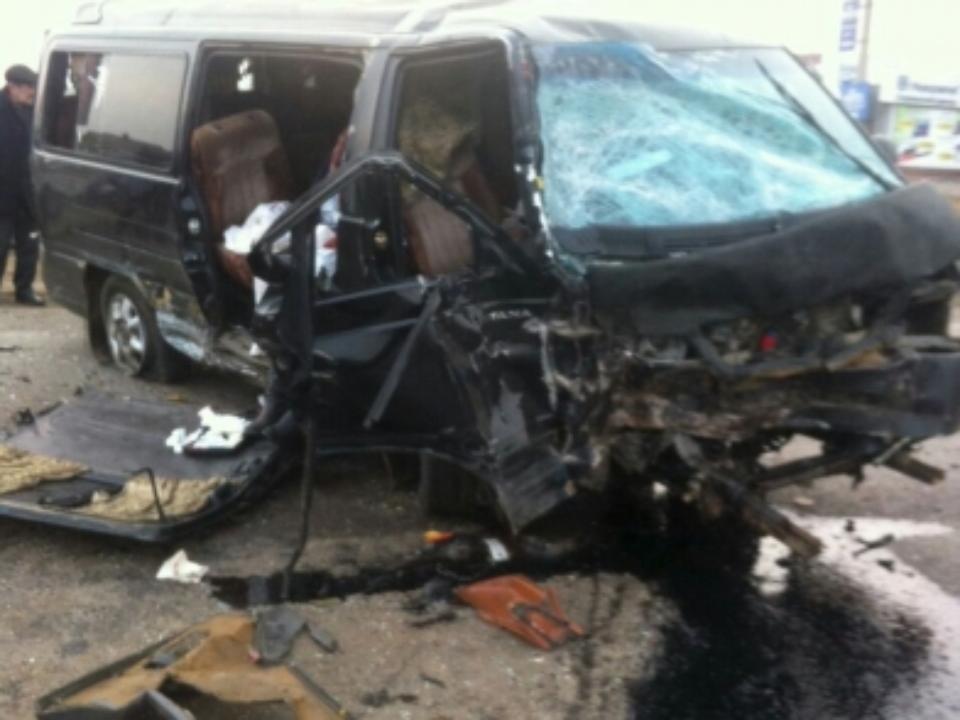 Пассажирка маршрутки погибла вДТП счетырьмя автомобилями вХомутово