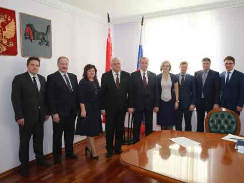 Губернатор Иркутской области подписал план общих мероприятий с республикой Белоруссией