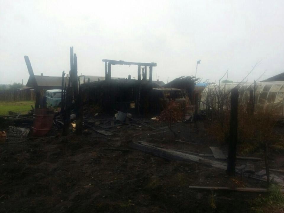 ВЧеремховском районе граждане села Тальники сами спасли село отпожара