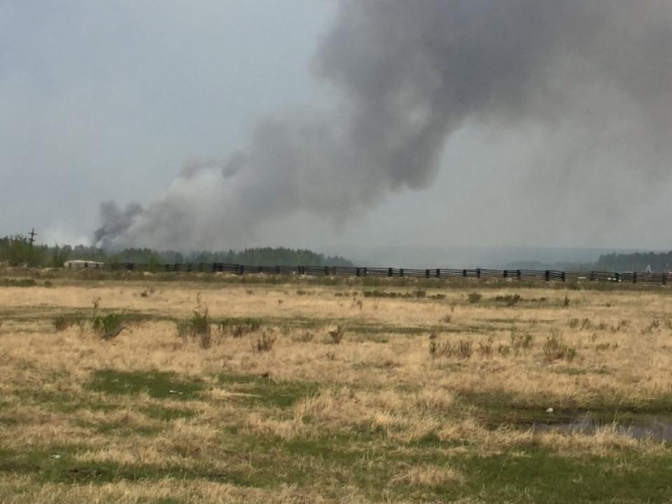 Водном изпоселков вБурятии готовятся кэвакуации из-за угрозы пожара