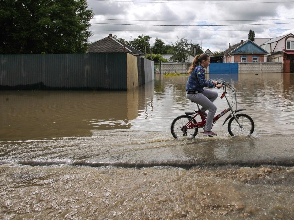 Вода ушла практически извсех сел Чугуевского района Приморья