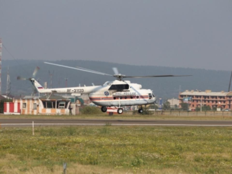 Авиация МЧС РФ прибыла вПриангарье для тушения лесных пожаров