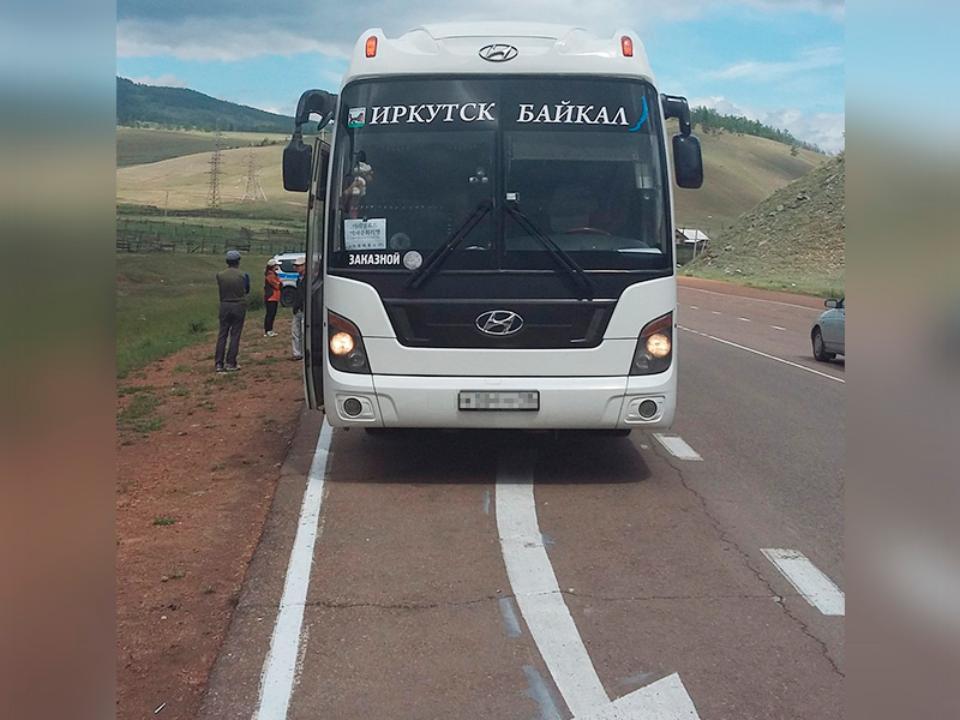 ВИркутской области туристы ехали вавтобусе с нетрезвым водителем