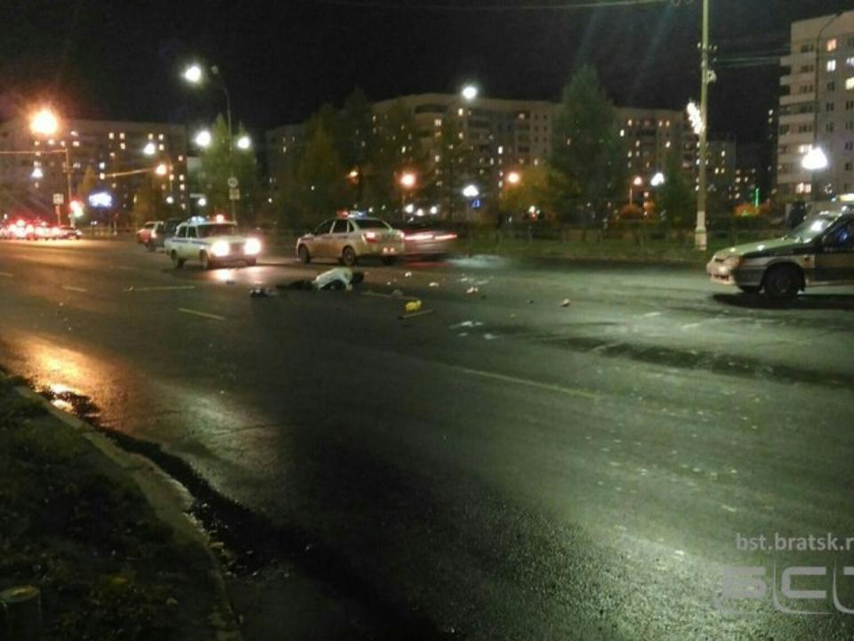 ВБратске нетрезвый шофёр сбил 2-х пешеходов, один изних умер