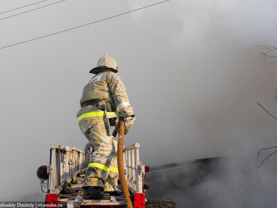 ВУсть-Илимске впожаре  умер  мужчина