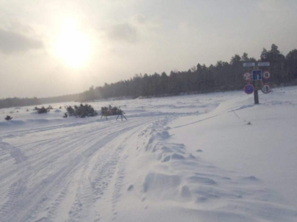 Две ледовые переправы открыли нареке Уде вИркутской области