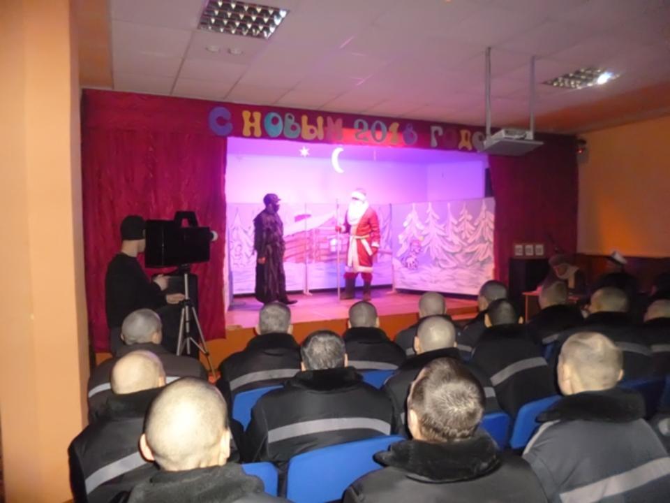 Омские заключенные сыграли вколонии пьесу «Отморозко»
