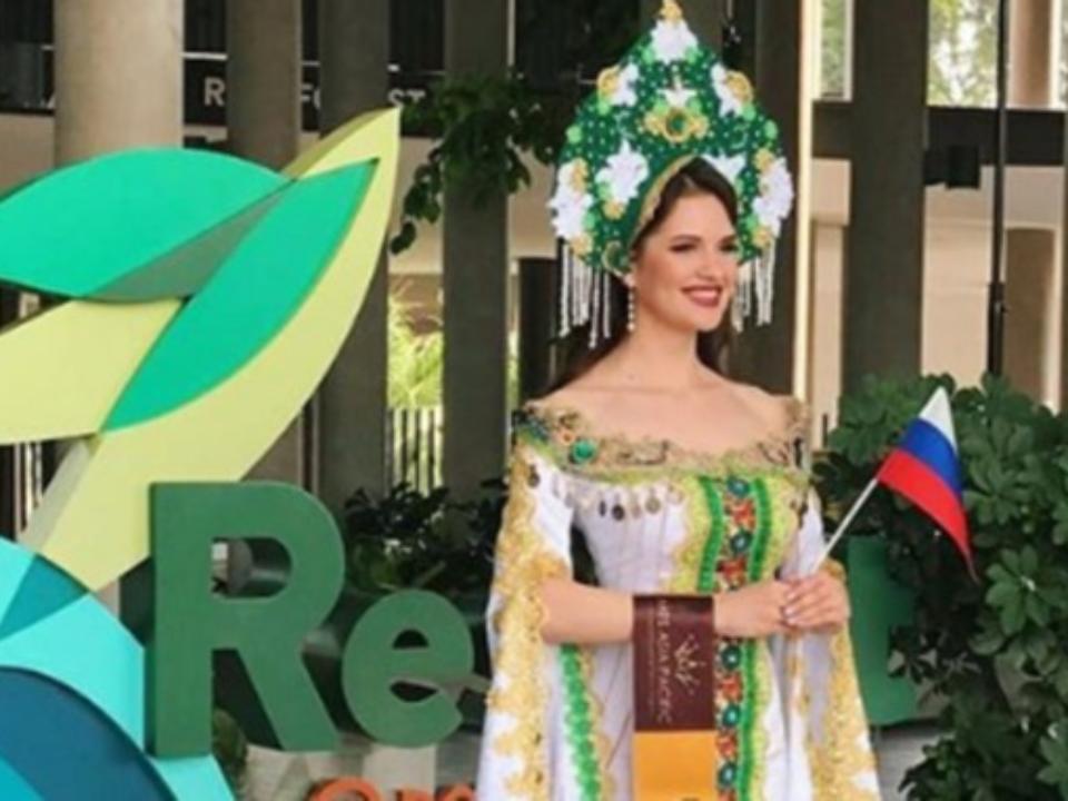 Молодая мать изНовосибирска одолела вазиатском конкурсе красоты
