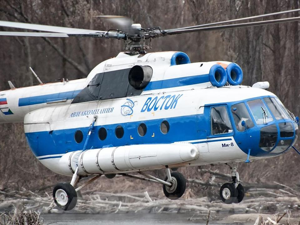 Очевидцев крушения Ми-8 вХабаровске попросили прислать видео
