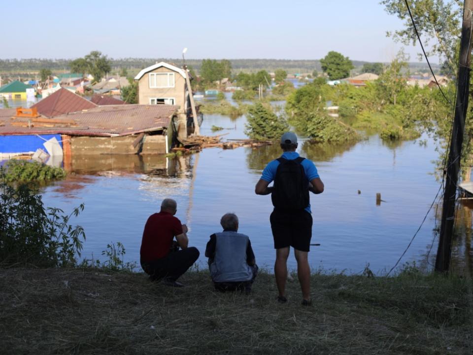 Первые пострадавшие при наводнении вИркутской области стали владельцами  нового жилья