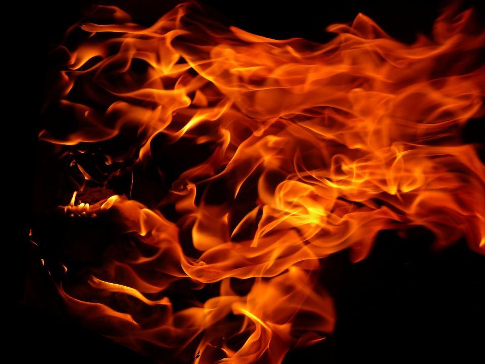 картинку на голову огонь солидный буклет, занимающий