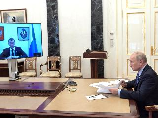 Путин благословил Дегтярёва на участие в выборах губернатора Хабаровского края?